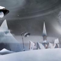 P'tit village sous la neige