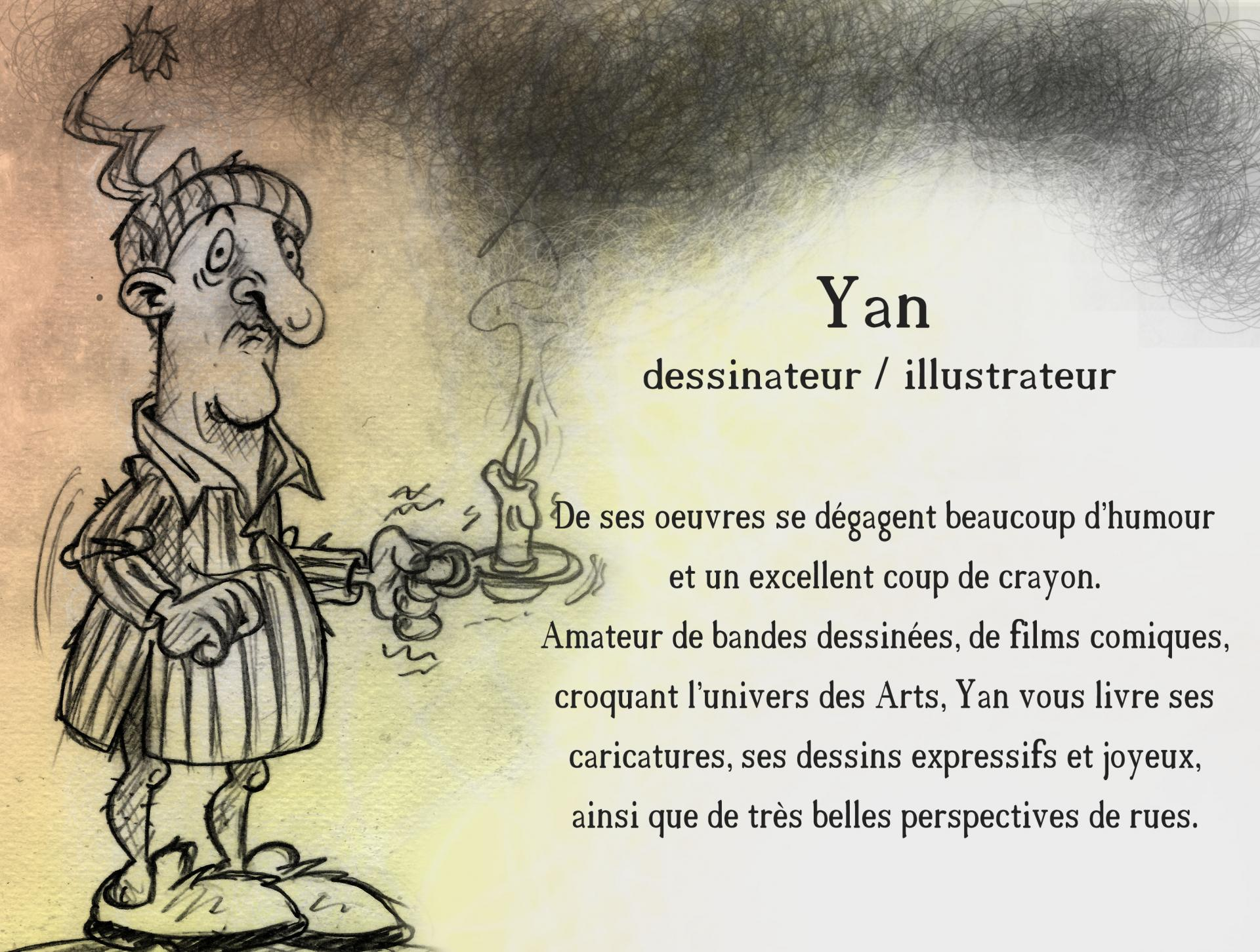 Les dessins de Yan